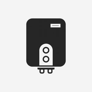 Tankless Water Heater Icon